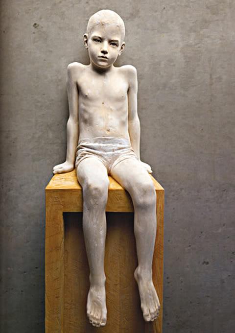 Stunning Wood Sculpture by Bruno Walpoth