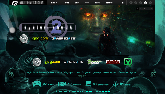 Night Dive Studios Website